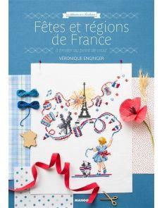 Fêtes et régions de France - A broder au point de croix