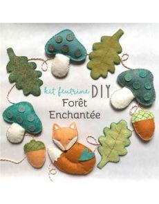 Kit feutrine Forêt enchantée