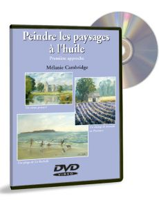 Peindre les paysages à l'huile 1ère approche – DVD