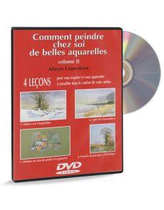 Comment peindre chez soi de belles aquarelles - DVD vol.2, par Alwyn Crawshaw