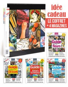 Coffret 4 magazines COLLECTION Secrets d'Artistes