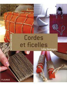 Cordes et ficelles, matières à créer par Lélia Deshayes