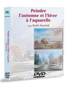 Peindre l'automne et l'hiver à l'aquarelle – DVD