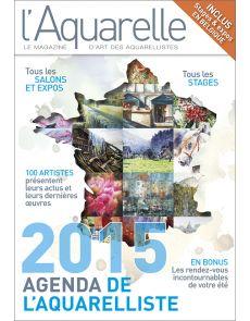 Agenda de l'aquarelliste 2015