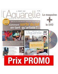 L'Art de l'Aquarelle n°26 + DVD Master Class avec Chien Chung-Wei