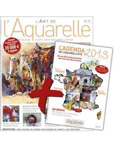 L'Art de l'Aquarelle n°17 + l'AGENDA 2013