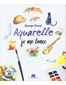Aquarelle Je me lance - Dominique Pascaud