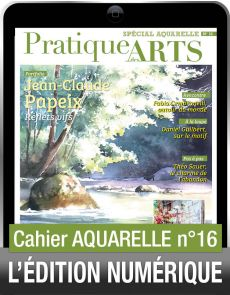 TÉLÉCHARGEMENT - Cahier spécial AQUARELLE 16 - Pratique des Arts