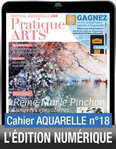 TÉLÉCHARGEMENT - Cahier spécial AQUARELLE 18 - Pratique des Arts