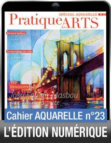 TÉLÉCHARGEMENT - Cahier spécial AQUARELLE 23 - Pratique des Arts