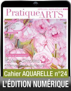 TÉLÉCHARGEMENT - Cahier spécial AQUARELLE 24 - Pratique des Arts
