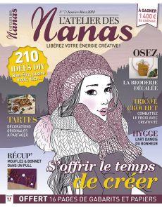 ADN - L'Atelier des Nanas numéro 7 - S'offrir le temps de créer
