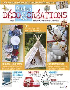 Atelier Déco et Créations n°34 - Décorations estivales à volonté