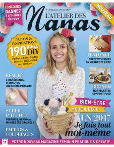 ADN - L'Atelier des Nanas n°2 - Tutos et inspirations Do It Yourself