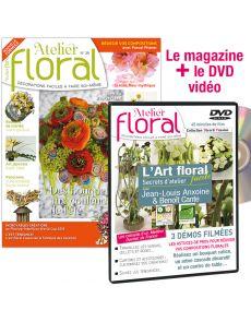 Atelier Floral n°39 + DVD 3 démos filmées