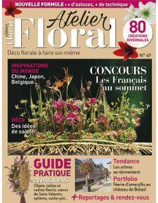 Atelier Floral numéro 49 + un Guide Pratique de 20 tutoriels