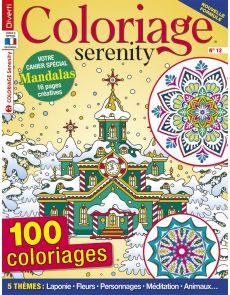 Coloriage Serenity 12 - 100 coloriages et votre cahier spécial Mandalas