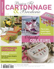 Passion Fil Cartonnage et Broderie n°15
