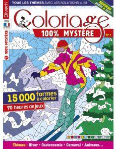 Coloriage 100% Mystère 7 - 15000 formes à colorier