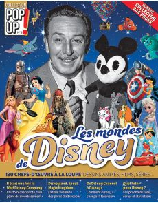Les Mondes de DISNEY : dessins animés, films, séries - Collection Pop Up 3