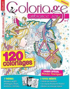 Coloriage Ambiance Zen 4 - Thèmes automne, fleurs, mandalas, colorama…