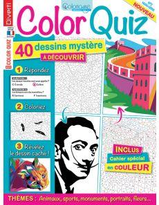 COLOR QUIZ - 40 dessins mystère à découvrir