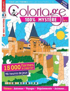 Coloriage 100% Mystère 11 - Un livre à colorier