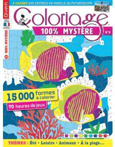 Coloriage 100% Mystère 9 - 15000 formes à colorier