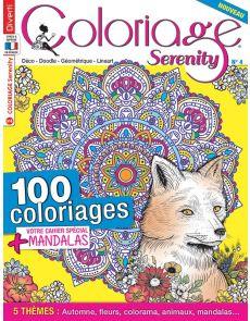 Coloriage Serenity 4 - 100 coloriages + votre cahier spécial Mandalas