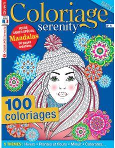 Coloriage Serenity 9 - Avec en bonus votre cahier spécial Mandalas
