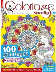 Coloriage Serenity 07 - 100 coloriages + votre cahier spécial Mandalas