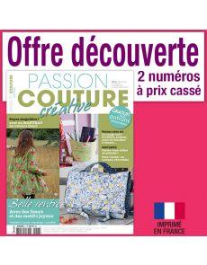 Passion Couture Créative - Abonnement Découverte 2 numéros