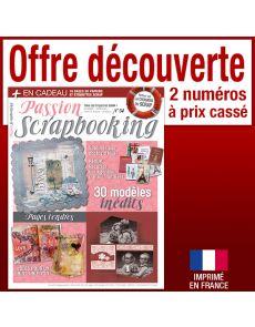 Passion Scrapbooking - Abonnement Découverte 2 numéros