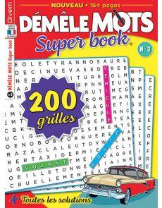 Démêle Mots Super Book 3 - Avec 200 grilles à résoudre