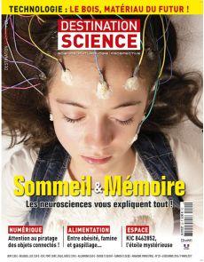 Destination Science n°20 - Sommeil et mémoire