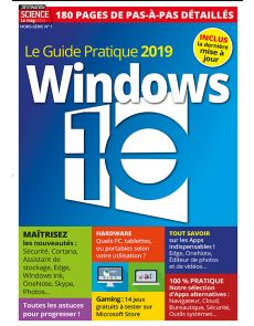 Le guide pratique 2019 Windows 10 - Hors-série n°1 de Destination Science le Mag