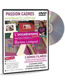 DVD L'encadrement facile avec Martine Lintignat - Secrets d'ateliers