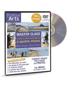 Sur le motif avec deux pastellistes - DVD vidéo avec Sophie Amauger et Marcel Moulin