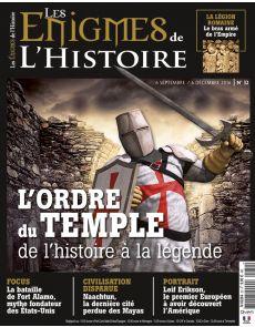 Les Enigmes de l'Histoire n°32 - L'ordre du Temple, de l'histoire à la légende