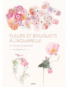 Fleurs et bouquets à l'aquarelle - Ai Nakamura