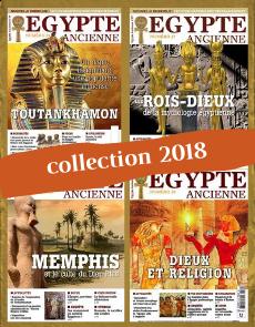 Collection 2018 complète - Égypte Ancienne : 4 numéros