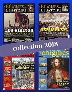 Collection 2018 - Les Grandes Enigmes de l'Histoire : 4 numéros collector