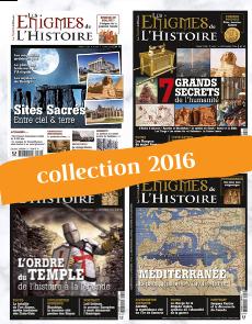 Collection 2016 - Enigmes de l'Histoire : 4 numéros collector