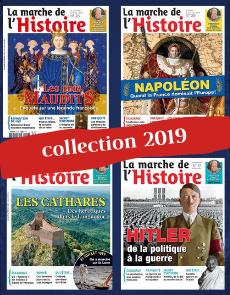 Collection 2019 - La Marche de l'Histoire - 4 numéros Collector