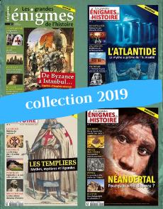Collection 2019 complète - Les Grandes Enigmes de l'Histoire