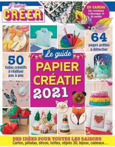Le guide PAPIER CRÉATIF + 64 pages de motifs et gabarits