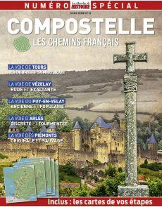 Compostelle, les chemins français - La Marche de l'Histoire - Hors-Série 13