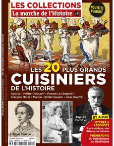Les Collections de La Marche de l'Histoire 6 - Les 20 plus grands cuisiniers de l'Histoire