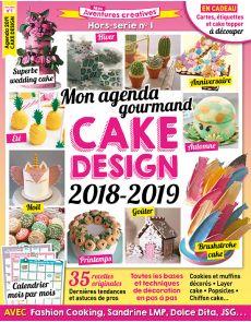 Mon agenda gourmand - Cake Design 2018-2019