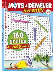 160 grilles de Mots à Démêler Serenity 5
